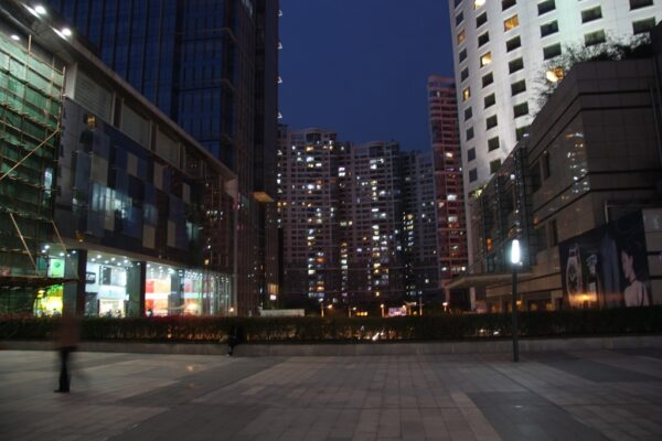 Urbane Zenten: Typisches Bild aus einer chinesischen Grossstadt (hier Shenzhen).