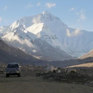 Auf dem Dach der Welt: Ausblick auf den Mount Everest.