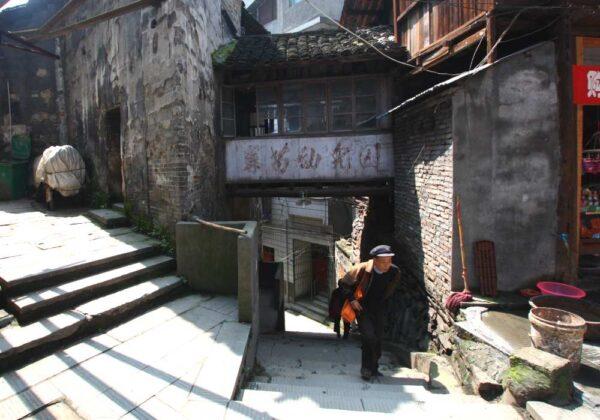 Bröckelnder Verputz und lokales Leben machen Hongjiang zu einer der authentischsten Orte Chinas. Fotos: O. Zwahlen