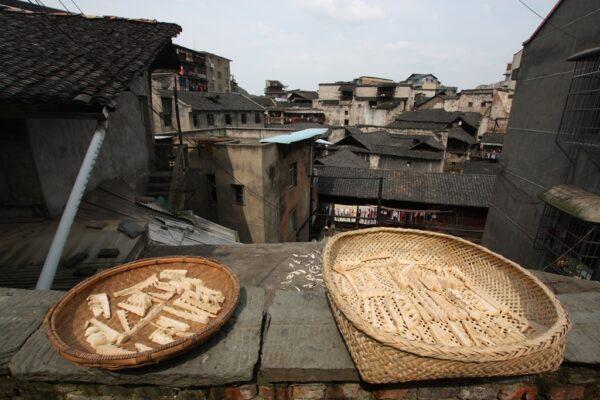 Aussicht auf Hongjiang: Nicht klassisch schön, aber authentisch.