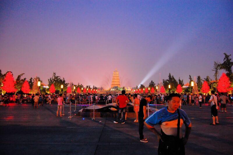 Xian, die frühere Hauptstadt von China.