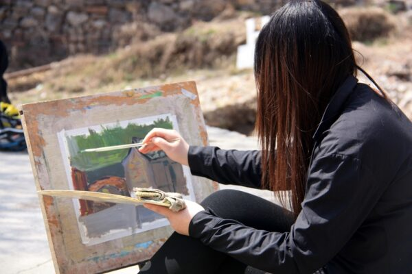 Beliebt bei Kunststudenten: Ganze Klassen fahren nach Guoliang.
