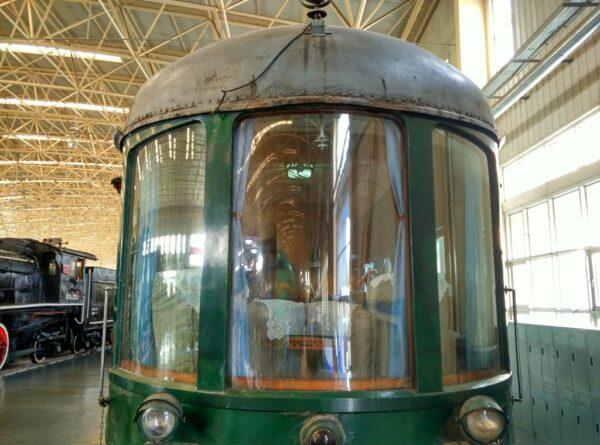 Der Wagen des früheren Eisenbahnministers muss gradiose Aussichten geboten haben.