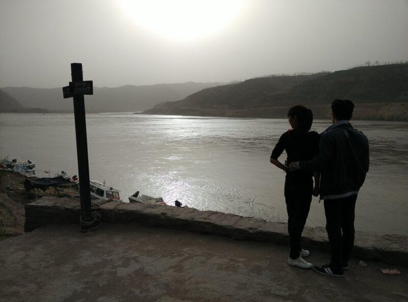 Majestätosch: Der Gelbe Fluss strömt direkt an Qikou vorbei.