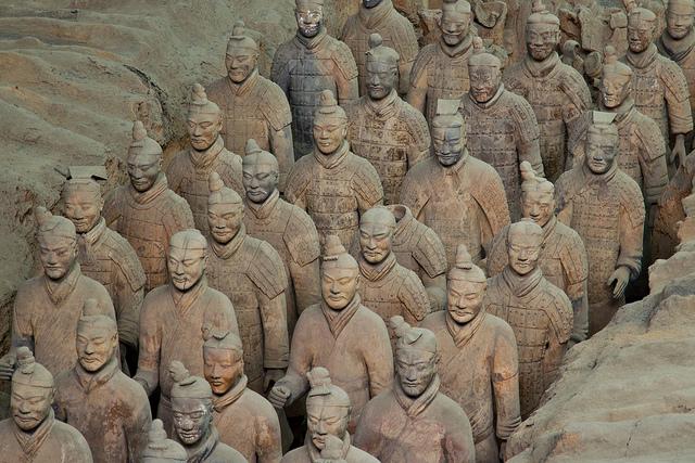 Eine meiner grössten Enttäuschungen in China: Die Terrakottaarmee bei Xian. Foto: Colin Capelle / Flickr