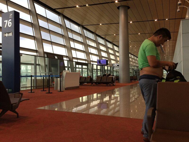 Entspannt: Einer der modernen Flughäfen in China. Foto: Gabriel Müller