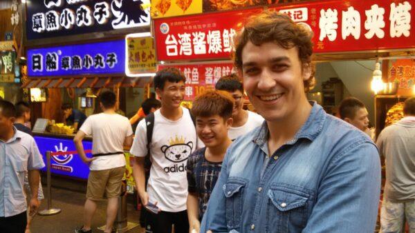 Yannik Thiele studiert in China das Fach Internationale Beziehungen.