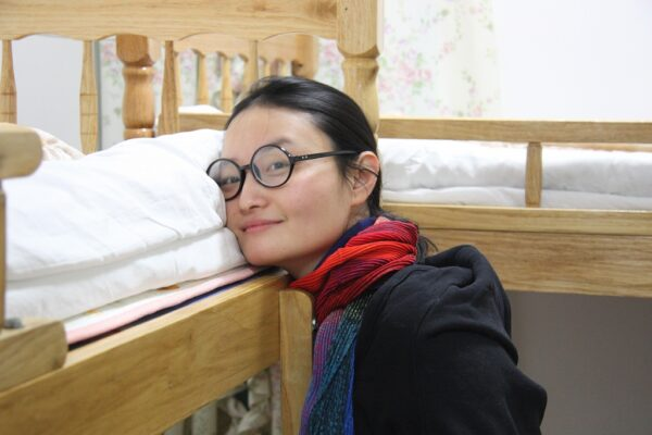 Ein Dormitory auf der Gulangyu-Insel vor Xiamen.