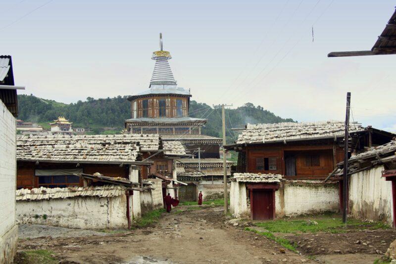 Zentrum des alten Dorfs.