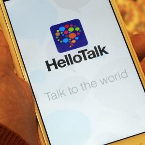 HelloTalk: Eine Handy-Anwendung mit der du Sprachpartner auf der ganzen Welt findest.