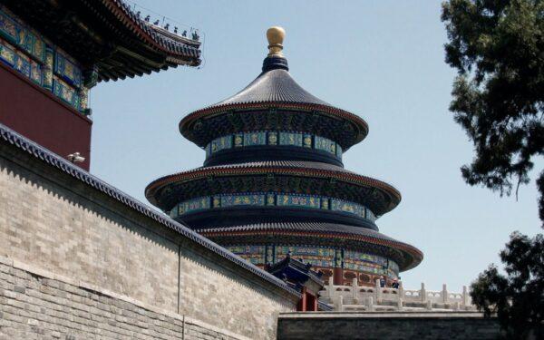 Der Himmelstempel in Peking. Foto: O. Zwahlen