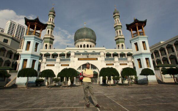 Die Grosse Moschee ist eine der wenigen Sehenswürdigkeiten in Xining.
