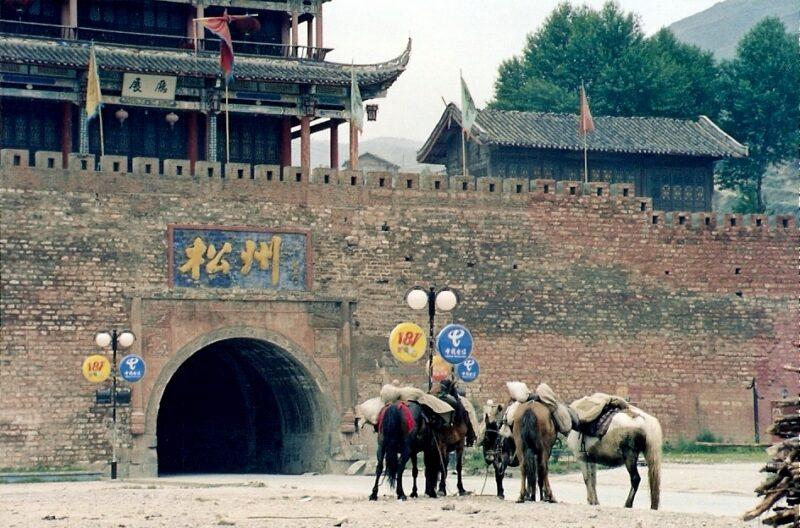 Die Stadt Songpan verfügt noch über mehrere historische Stadttore. Foto: Matt / Flickr