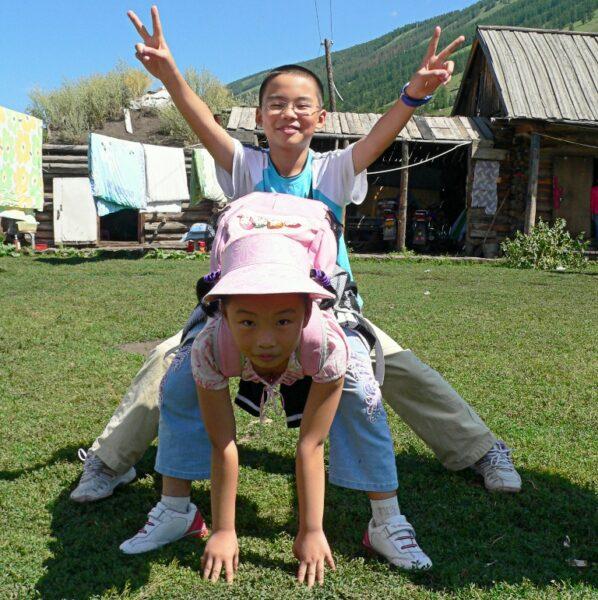 Die Natur in Westchina: Ein Paradies für Kinder.