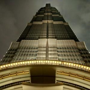 Die obersten Etagen des Jinmao-Towers bilden das Grand Hyatt Shanghai. Fotos: OZ