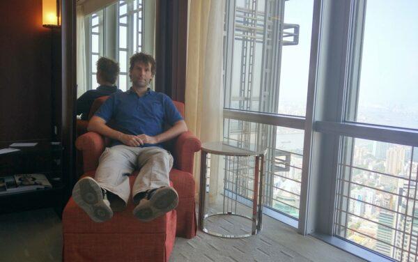 Gemütliches Relaxen in Etage 64.