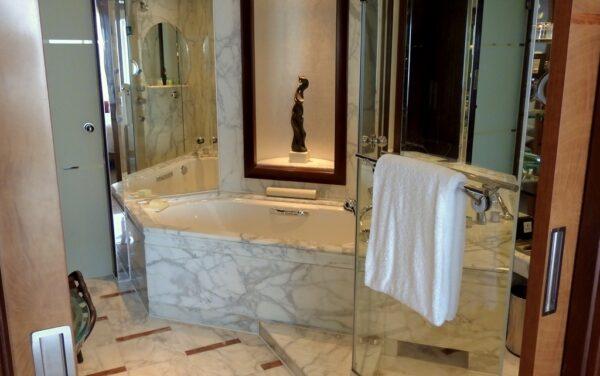 Eleganz im Badezimmer.