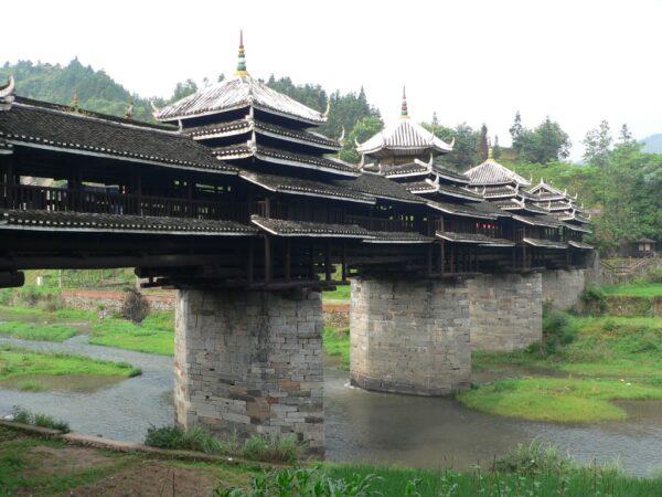 Die Dörfer rund um Sanjiang sind für ihre Brücken bekannt.