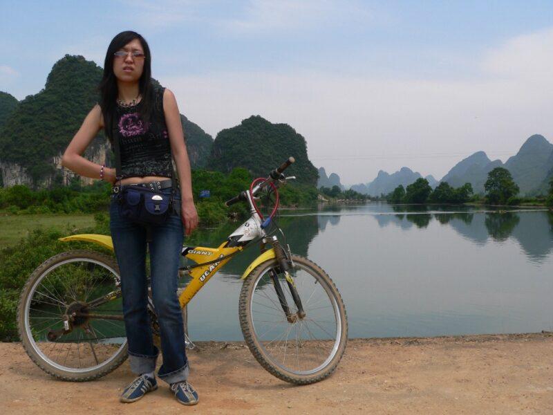 Das Fahrrad ist eine der besten Arten, die Landschaft kennenzulernen.