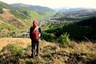 Blick von einem der kleineren Gipfel auf die Ortschaft Taihuai (Wutaishan). Fotos: OZ