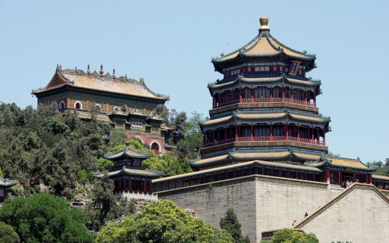 Einer der Paläste von Yiheyuan.