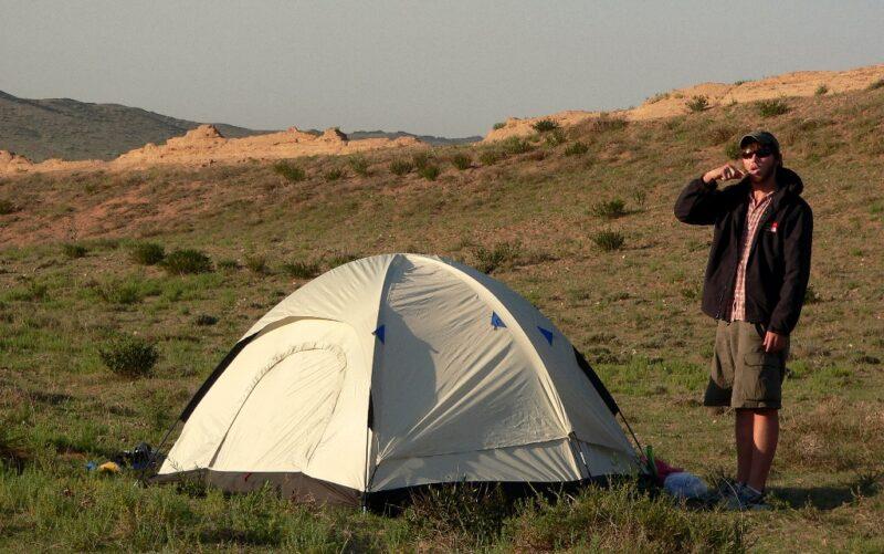 """Die """"wilde Mauer"""" ausserhalb von Peking ist ein ideales Ziel für Campingtrips."""