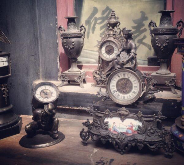 Fundstücke im Antiquitätenmarkt von Panjiayuan. Foto: Dhyani Kalapaaking.