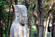 Konfuzius und seine Nachfahren sind in Qufu an allen Ecken zu sehen. Fotos: OZ