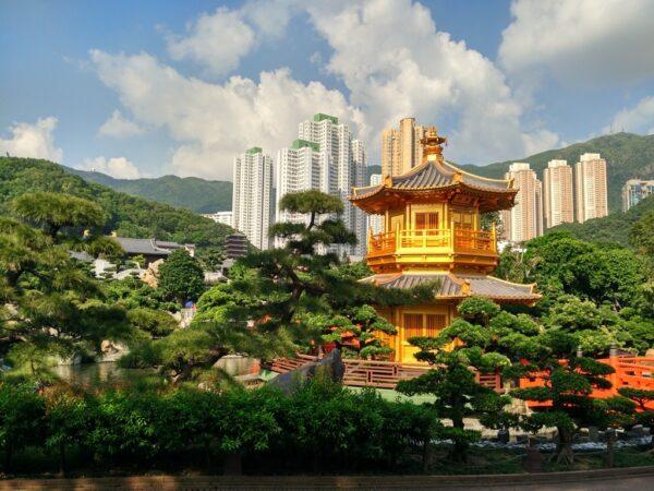 Einer der schönsten Tempel in Hongkong
